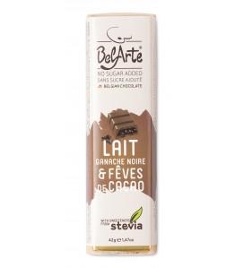 suk fri lait ganache lait and feves