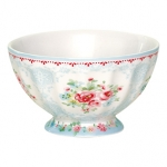 French bowl olivia pale blue M