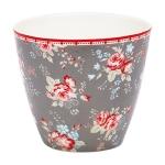 Latte cup abelone dark grey