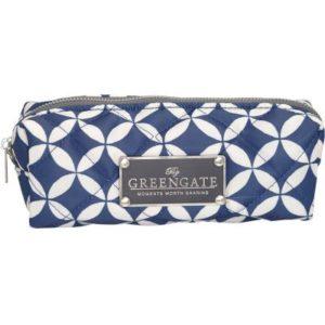 Nylon cosmetic bag noa indigo