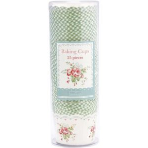Paper baking cup abelone mint