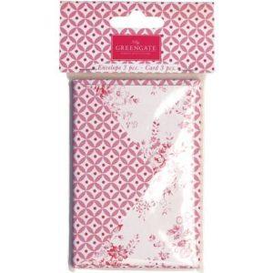 Paper envelopes cards abelone raspberry
