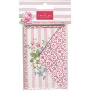 Paper envelopes cards marie pale pink