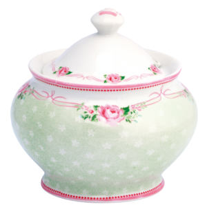Sugar pot amelie white