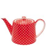 Teapot spot red