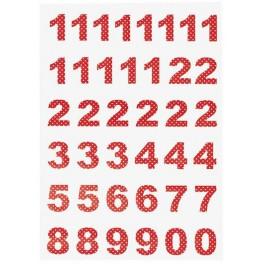 calendar number spot red