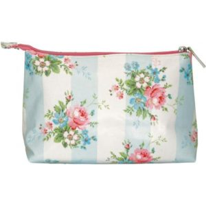 cosmetic bag marie pale blue L