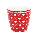 egg cup haven red