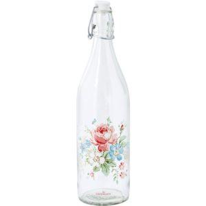glass bottle marie white