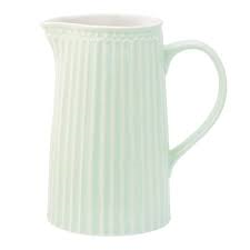 jug alice pale green