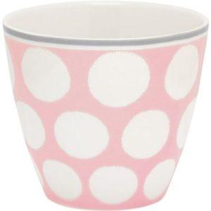 latte cup aura peach