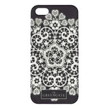 mobilecover iphone 5 lace silver