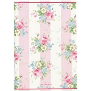 notebook marie pale pink