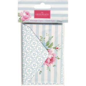 paper envelopes cards marie pale blue