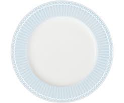 plate alice pale blue