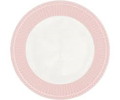plate alice pale pink