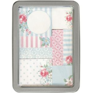 sticky note set marie pale blue