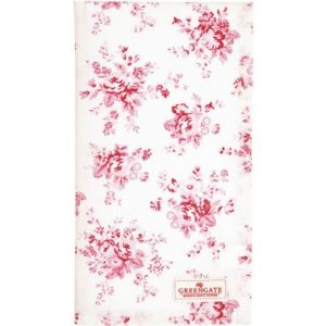 tea towel abelone raspberry