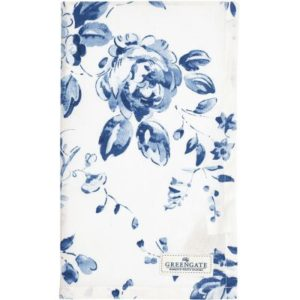 tea towel amanda indigo