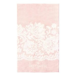 tea towel liva pink