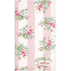 tea towel marie pale pink
