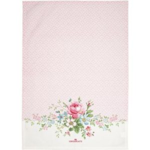 tea towel sonja pale pink