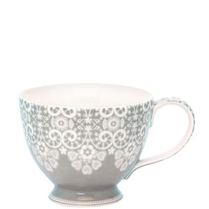 teacup lace warm grey