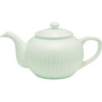 teapot alice pale green