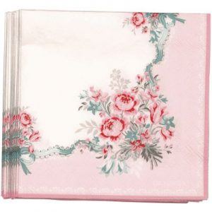 napkin betty pale pink small