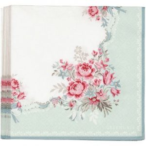napkins betty mint Large
