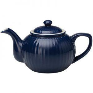 teapot alice dark blue